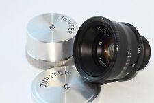 JUPITER-12 35 mm F/2.8 M39 RF Soviet Biogon Lens Leica Zorki #8901542 Metal caps