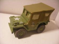 Mattel Disney Pixar Voiture CARS 2 Die Cast Metal 1/55 Sergent SARGE Jeep