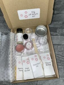 DIY Lip Balm Kit, Make Your Own At Home, Starter Kit, Craft Kit, Birthday Easter