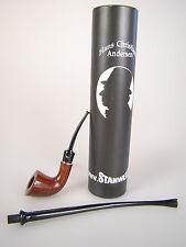 Stanwell Pipe Pfeife Hans Christian Andersen Churchwarden Lesepfeife Mod 6 Braun
