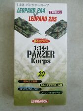 PANZER KORPS 1:144 MODEL KIT NUMBER 20 BY DRAGON IN BOX 2004 LEOPARD 2A4 & 2A5