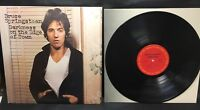 Bruce Springsteen Darkness on the Edge of Town LP Vinyl Record 1978