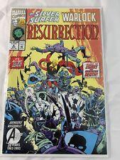 Resurrection #2 The Silver Surfer Warlock Marvel Comics