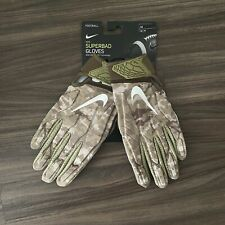 Nike Superbad Nfl Issued Salute To Service Padded Football Gloves Med Cw2215-922
