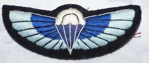 VINTAGE PARACHUTE WINGS PARA BADGE BRITISH MILITARY GLIDER TRAINED INFANTRY