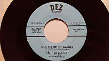 DESIREE ELLIOTT - Instead Of Pickin' Flowers RARE Private FT WORTH TEXAS COUNTRY