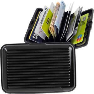 FABRIZIO Aluminium Börse EC-Kartenetui Kreditkartenetui Geldbörse ALU Card Case