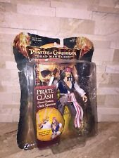 PIRATES OF THE CARIBBEAN DEAD MANS CHEST PIRATE CLASH JACK SPARROW FIGURE