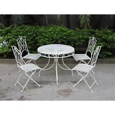 patio white furniture sets for sale ebay rh ebay com au