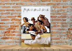 Friends TV Show Poster  Art Print ,Friends TV Show No frame