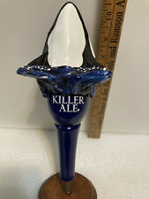 Killer Whale Killer Ale draft beer tap handle. California
