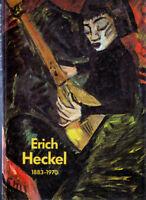 Erich Heckel 1883-1970 Gemälde Aquarelle Zeichnungen und Graphik Prestel 1983