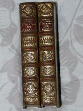 Histoire de Charles VII, BAUDOT DE JUILLY  (2vol/2), 1697