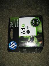 QTY 1  NEW Genuine HP 64XL Black Ink Cartridge N9J92AN High Yield EXP JUNE 2022