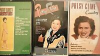Lot Of 3 Patsy Cline Country Cassette Tapes With Cases Sweet Dreams Crazy + More