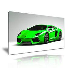 Lamborghini Super Car Canvas Wall Art Picture Print 60x30cm