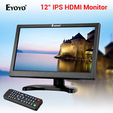 "EYOYO 12"" IPS HDMI Monitor USB VGA AV BNC Audio Input for Security Camera CCTV"