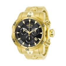 Invicta Venom 29644 Men's Gold-Tone Chronograph Watch with Gunmetal Dial
