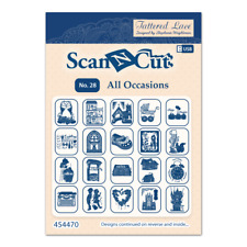 New Tattered Lace Scan N Cut USB No 28 ALL OCCASIONS - 14 Different Occasions