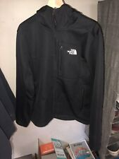 Men's The North Face Apex Soft Shell Hooded Jacket Size Medium Black