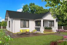 92mm Ferienhaus ISO (6 Räume) 1040x740 cm Blockhaus Blockhütte Gartenhaus