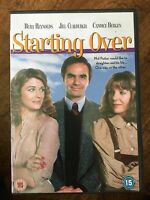 Starting Over DVD 1979 Comedy Movie Classic w/ Burt Reynolds and Candice Bergen