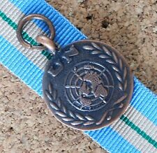 UNMEE UNITED NATIONS MISSION IN ETHIOPIA & ERITREA MINIATURE MEDAL 10CM RIBBON