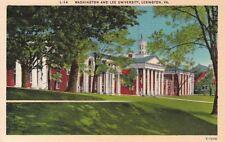 Postcard Washington and Lee University Lexington VA