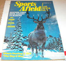 SPORTS AFIELD WITH ROD & GUN MAGAZINE HUNTERS FIGHT BACK AGAINST TV DEC. 1975