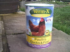 VERM-X POULTRY WORMER CHICKEN DUCK FOWL 750gm