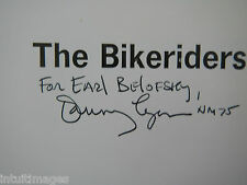 THE BIKERIDERS DANNY LYON / INSCRIBED / STATED FIRST EDITION / HARDCOVER / DJ