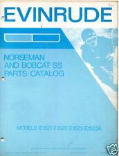 1973 EVINRUDE NORSEMAN & BOBCAT SS PARTS MANUAL