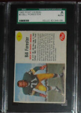 1962 POST CEREAL #3 BILL FORESTER SGC A AUTHENTIC GREEN BAY PACKERS 1 ON EBAY!