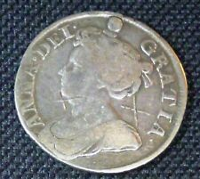 1711 QUEEN ANNE  England Great Britain Silver Shilling