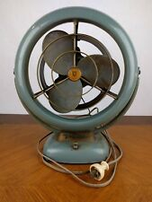 VTG Metal Vornado Fan Air Circulator Fan Retro Table Desk V-Fan Industrial Works