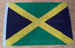 """JAMAICA FLAG - 45cm x 30cm - 18"""" x 12""""  Jamaican Flag"""