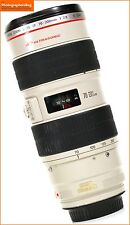 Canon ef 70-200mm F2.8L Is Usm Af Zoom Lente Para Eos Slr + GRATIS UK FRANQUEO