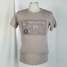 Portland Oregon Graphic Mens T-Shirt Size S Grey Short Sleeve Shirt 100% Cotton