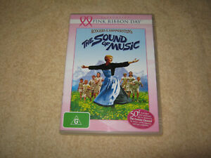 The Sound of Music - Rodgers and Hammerstein - VGC - DVD - R4
