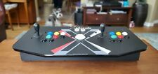 X-Arcade Tankstick and Trackball Home Arcade Custoized with Xbox Colors