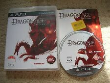 DRAGON AGE : ORIGINS  - Rare Sony PS3 Game