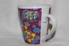Mug  Tasse à café Fiddly Flowerpetals Wiggly Worms Flowertots