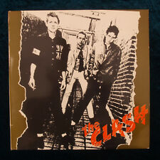 The Clash LP Vinyl Record Album Punk Made in Greece 1977 Greek Press CBS 32232