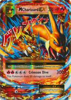 1x - Mega-Charizard-EX - 13/108 - Holo Rare ex LP Pokemon XY Evolutions