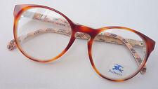 Burberrys Brillenfassung große Pantoform havanna braun Markenbrille NEU size M