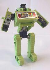 BONECRUSHER; 1985 Hasbro; G1 Vintage Transformers; Constructicon, AS IS