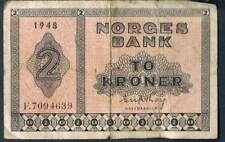 NORWAY BANKNOTE 1 P16b 1948 F