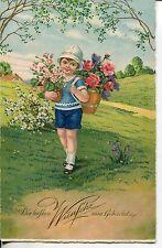 Zwischenkriegszeit (1918-39) Geburts- & Geburtstagskarten
