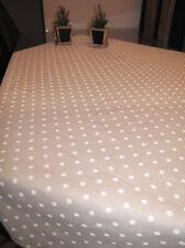 Tischdecke Punto Weiß 140x240 NEU made in Italy
