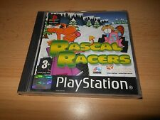 Rascal Racers PS1 Playstation 1 PAL version  MINT COLLECTORS